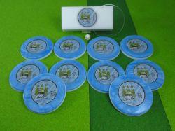 Jogo de botão Manchester City (ING)