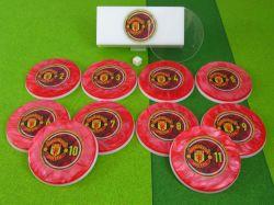 Jogo de botão Manchester United  (ING)