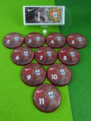 Jogo de botão Seleção Portugal