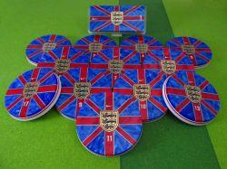 Jogo de botão Seleção Inglaterra