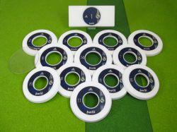 Jogo de botão Argola resinado Real Madri (ESP)