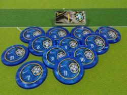 Jogo de botão Seleção do Brasil