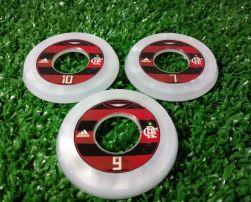 Jogo de botão Argola resinado Flamengo 2019