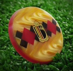 Botão avulso Seleção da Bélgica III