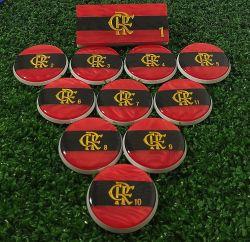Jogo de Botão Flamengo (45mm)