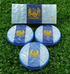 Jogo de Botão Manchester City (45mm)