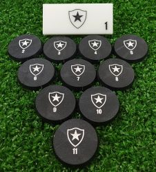 Jogo de Botão Botafogo